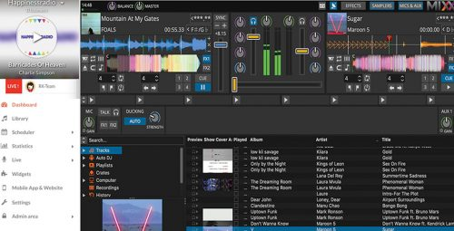 Broadcast live on your Radio with Mixxx – software on Linux, Mac and Windows