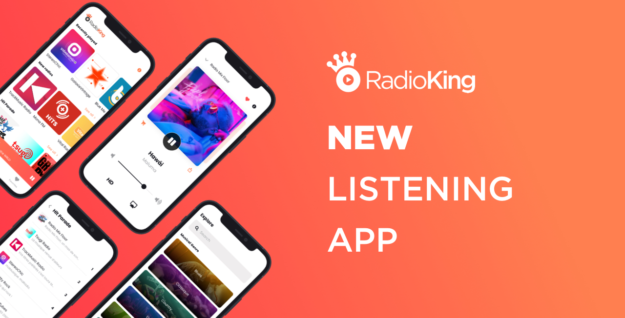 Our new and improved listening app
