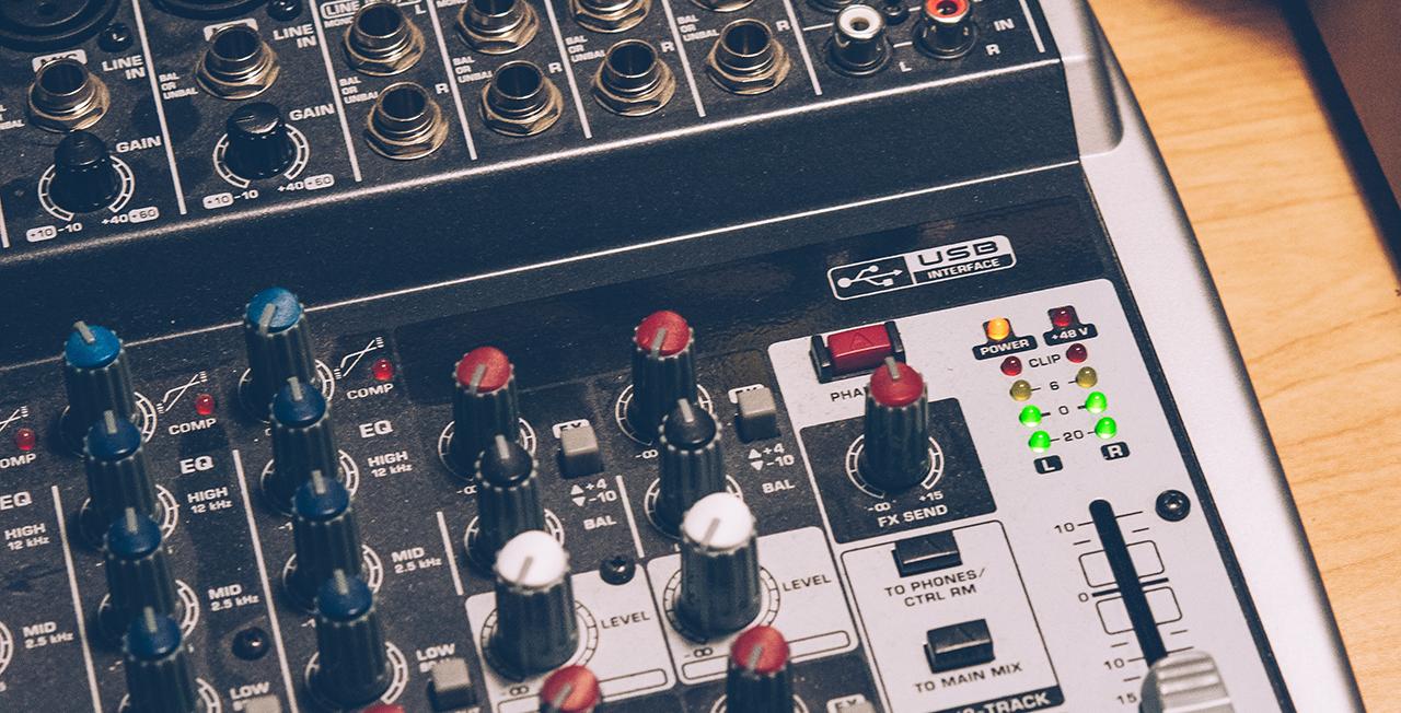 Best budget audio mixers for Radio 2021