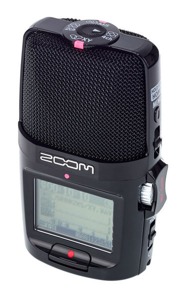 zoom H2n interview microphone